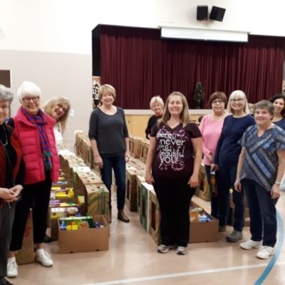 Family Hamper volunteers 2019