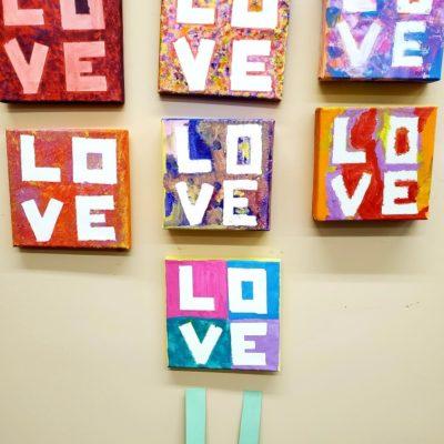 LOVE squares Feb 2020 #2